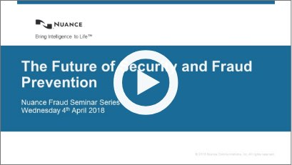 The Future of Security and Fraud Prevention